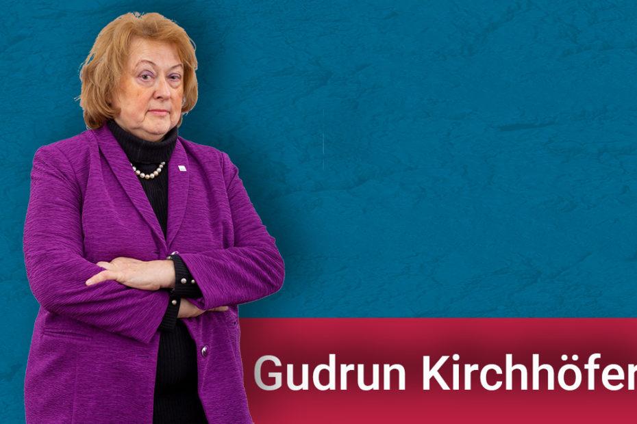 """Politisch will sich Gudrun Kirchhöfer für eine Verbesserung der Infrastruktur und Lebensqualität einsetzen. Sie steht für bezahlbaren Wohnraum auch für """"Normalverdiener"""" und gute, medizinische Versorgung in allen Städten und Gemeinden des Landkreises."""