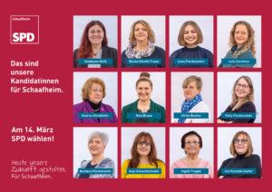 Das sind unsere neuen Kandidatinnen für Schaafheim.
