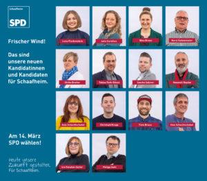 Das sind unsere neuen Kandidatinnen und Kandidaten für Schaafheim.