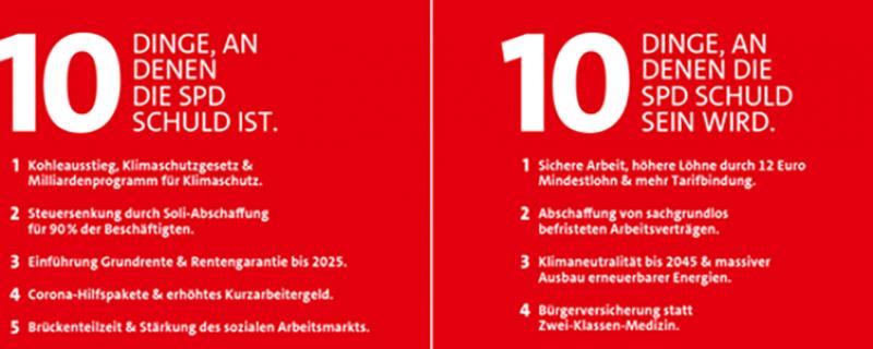 Manche von euch haben es wahrscheinlich schon SO OFT gehört … die SPD ist schuld!!! Und ja – das stimmt. Aber wir sind gerne schuld an einer Politik, die das Leben von Millionen Menschen in unserem Land verbessert hat.